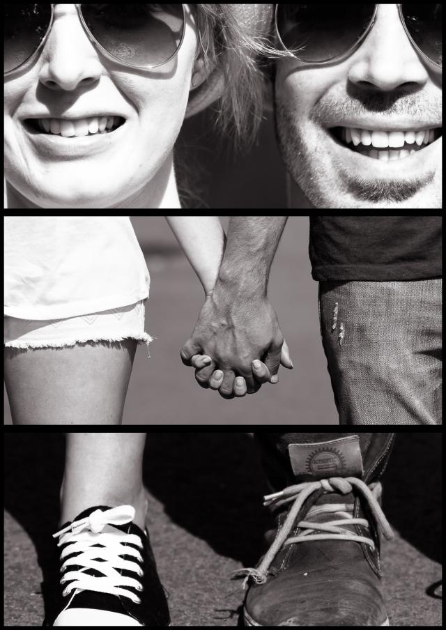 3-part Portrait: Face-hands-feet